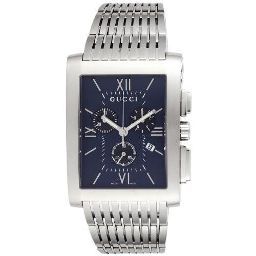 [グッチ]GUCCI 腕時計 Gメトロ ネイビー/ブラック文字盤 クロノグラフ デイト YA086318 メンズ 【並行輸入品】