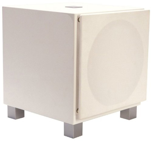 "Rel-T9 10"" Powered Subwoofer Gloss White"