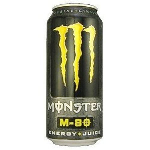 Monster Energy Drink, M-80, 16-Ounce Cans (Pack of 24)