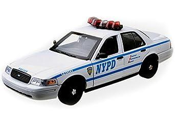 Amazon.com: GreenLight Ford Crown Victoria Police Interceptor New York
