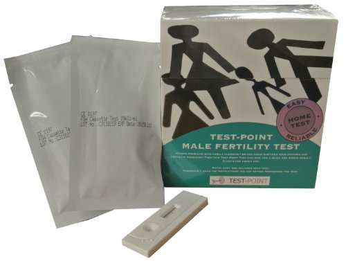 Male and Female Joint Fertility Test - 2 x Male fertility Tests & 3 x Female Fertility Tests