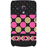 For Samsung Galaxy S3 Mini I8190 :: Samsung I8190 Galaxy S III Mini :: Samsung I8190N Galaxy S III Mini Polka Pattern ( Polka Pattern, Pattern, Circle, Circle Pattern, Nice Pattern ) Printed Designer Back Case Cover By FashionCops