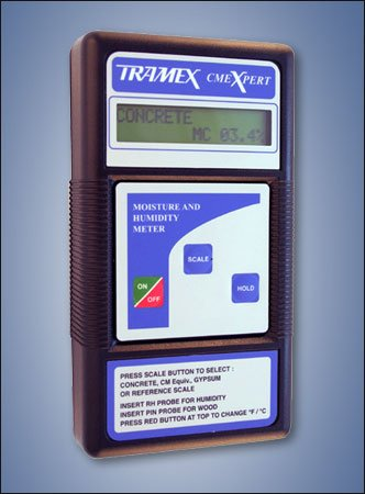 CMEX-KIT3 Tramex CMEXpert Concrete Moisture & Humidity Meter, Complete Kit