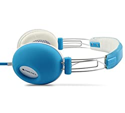 Zebronics HipHop Blue Wired Headset