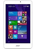 Acer タブレット Iconia Tab 8 W [Windows10無料アップデート対応](Win8.1withBing/8インチ/Atom Z3735G/1GB/32GB eMMC) W1-810-F11N