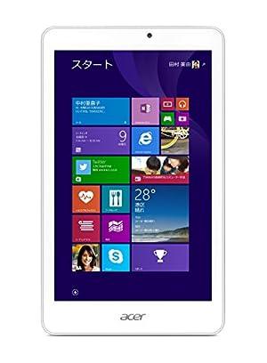 Acer Windows タブレット Iconia Tab 8 W W1-810-F11N /8インチ/Windows10無料アップデート対応