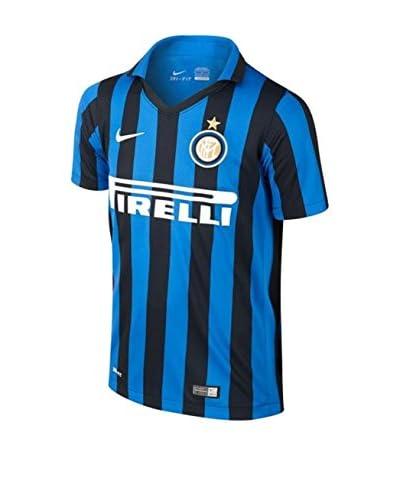Nike Trikot Inter Mailand Home Stadium 2015/2016 Kids schwarz/blau