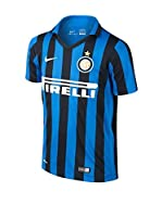 Nike Camiseta de Fútbol Inter Mailand Home Stadium 2015/2016 Kids (Negro / Azul)