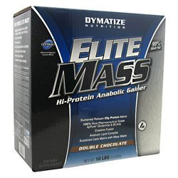 Dymatize Nutrition Elite Mass Cookies & Cream 4540g - DYM-338511