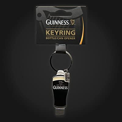 Guinness Pint Bottle Can Opener Keyring