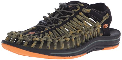 Keen Uneek Stripes Uomo US 11 Multicolore Sandalo