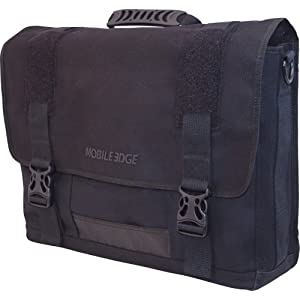 Mobile Edge Eco-Friendly Canvas Messenger Bag by Mobile Edge