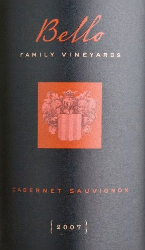 2007 Bello Family Vineyards Cabernet Sauvignon 750 Ml