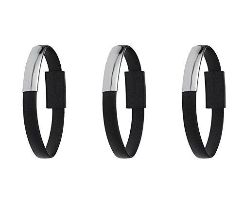 three-legs-3-pack-mini-short-flat-bracelet-charing-data-cables-3black