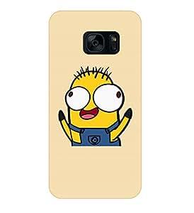 Happoz Designer Cute Cartoon Disney Hard Back Case for Samsung Galaxy S7 D112