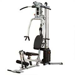 Powerline BSG10X Home Gym, Short Assembly, 160-Pound Weight Stack by Powerline
