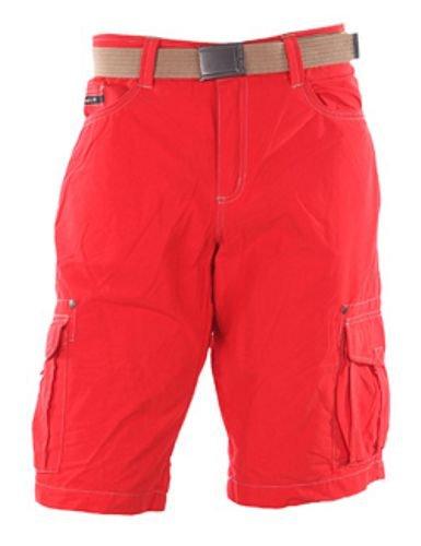 High Peak, Pantaloni corti Uomo Brockton, Rosso (red), 44