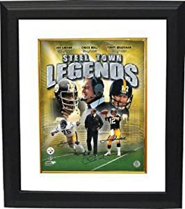 Chuck Noll Autographed Hand Signed Pittsburgh Steelers Steel Town Legends 16x20 Photo... by Hall of Fame Memorabilia