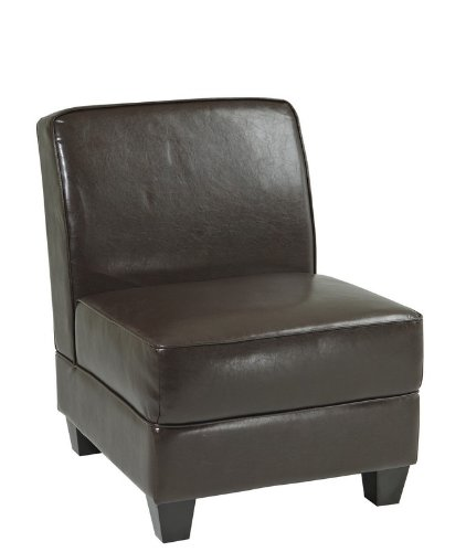 Office Star MIL51N-EBD Milan Upholstered Chair