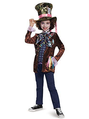 Mad Hatter Classic Alice Through The Looking Glass Movie Halloween Costume