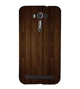 99Sublimation Dark Brown wood Stripes Background 3D Hard Polycarbonate Back Case Cover for Asus Zenfone 2 Laser ZE601KL