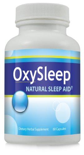 Oxy Sleep Natural Sleep Aid Capsules - Herbal Sleeping Pill, Fall Asleep Fast Remedy ~ 6 Bottles