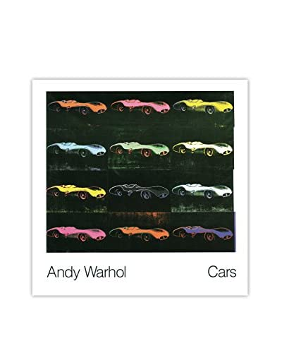 Andy Warhol Formula 1 Car W 196 R (1954) 1989 Unframed Poster, Red/Black/Pink