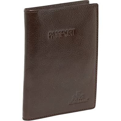 Rowallan Connor Passport Wallet - Brown