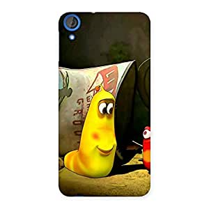 Delighted Naughty Friendly Cartoon Back Case Cover for HTC Desire 820s