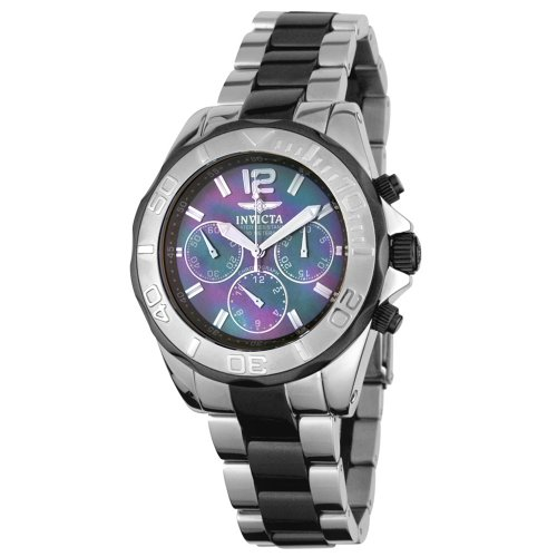 Invicta Men's Specialty Black Mother of Pearl Mechanical Chronograph Watch #4728/LTMOP