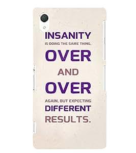EPICCASE Insanity Mobile Back Case Cover For Sony Xperia Z2 (Designer Case)