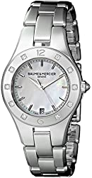 Baume & Mercier Women's A10071 Linea Analog Display Swiss Quartz Silver Watch