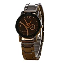buy Gotd Military Sports Men'S Dual-Display Multi-Function Stainless Steel Mens Watches (Black)