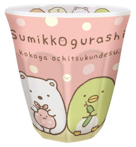 ティーズ ダブルプリントメラミンカップ すみっコぐらし ピンク SG-5518772PK