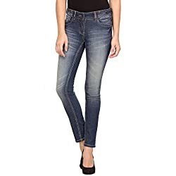 Species Women's Slim Fit Jeans (S-680_Blue_X-Small)