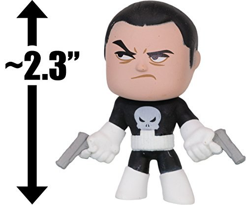 "Punisher: ~2.3"" Marvel x Funko Mystery Minis Vinyl Mini-Bobble Head Figure Series"