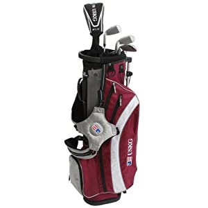 US Kids ULTRALIGHT 60 5-Club Carry Bag Set (Right Hand) by US Kids