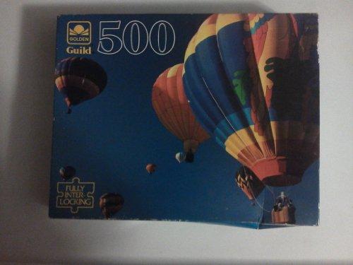 Golden Guild 500 Piece Puzzle: Balloon Fest - 1