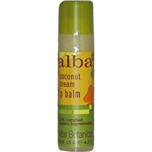 Alba Botanica 阿尔巴夏威夷椰奶味唇膏