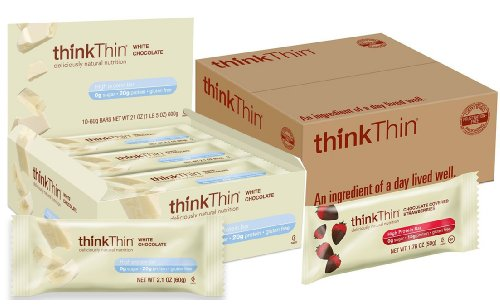 Thinkthin Bundle: Chocolate Covered Strawberries, White Chocolate Protein Bars