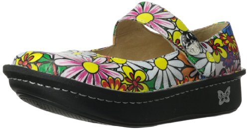 Alegria Women's Paloma Professional Mary Jane Flat,Flower Power,35 BR/5-5.5 M US (Alegria Shoes Paloma compare prices)