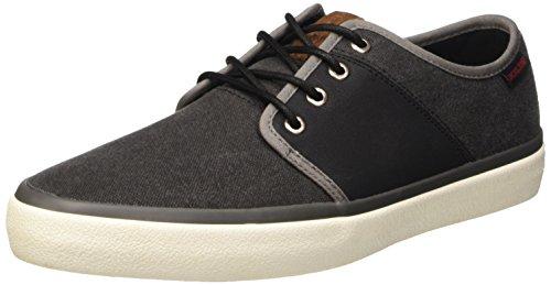 Jack & JonesJjturbo Canvas Sneaker Anthracite - Scarpe da Ginnastica Basse uomo , Grigio (Grey (Anthracite)), 44