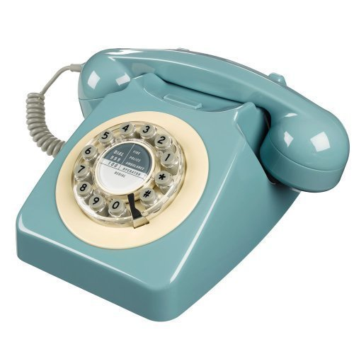 746 Phone 1960's Classic Design French Blue