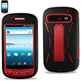Black/red Fashionable Perfect Silicone Case Protector Cover Hybrid Case for Samsung Admire(r720)