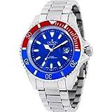 Croton Mens Croton Steel Diver 20 ATM Date Watch CA301157RDBU