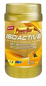 Powerbar Isoactive Orange - Isotonic Sports Drink, 1er Pack (1 x 600 g) from Powerbar