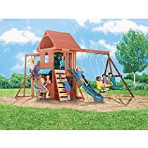 Big Sale Best Cheap Deals Ridgeview Clubhouse Wooden Swing Set