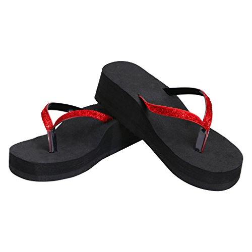 Ladies Synthetic Rubber Wedges Heel Slipper