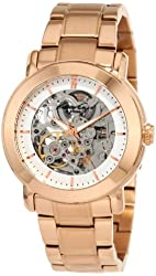 Kenneth Cole New York Women's KC4758 Rose Gold Ion-Plated  Automatic Watch