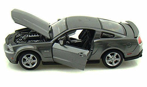 Maisto 2011 Ford Mustang GT 1/24 Scale Diecast Model Car Gray (Ford Gt Model compare prices)